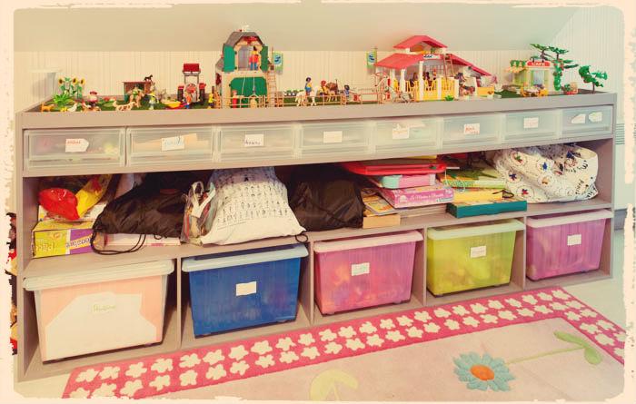 Accessoires meubles pour ranger ses jouets suite souris maman - Idee rangement chambre garcon ...