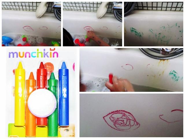 Bath crayons de munchkin