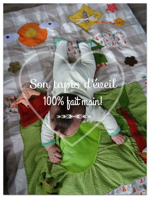 couture tapis d'éveil