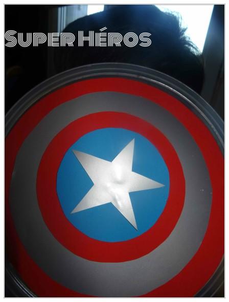 bouclier super héros