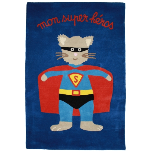 tapis super héros
