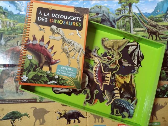 les dinosaures coffret auzou