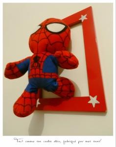 cadre diy super héros