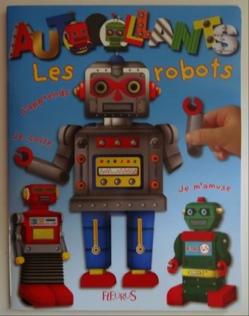 autocollants robots fleurus
