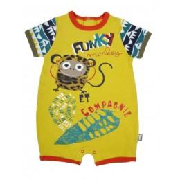 barboteuse-bebe-garcon-funky-monkey