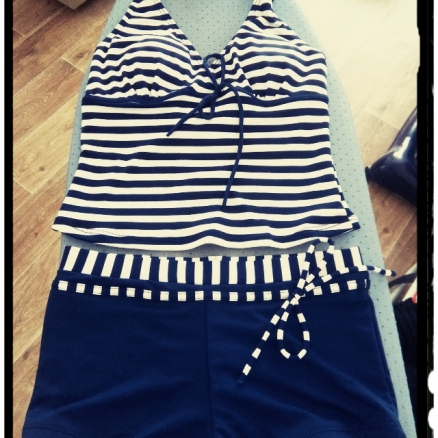 maillot de bain short