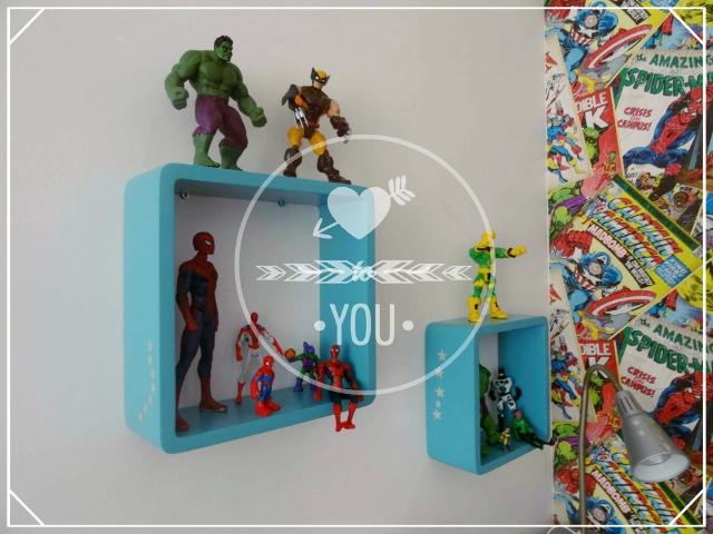 déco chambre enfant super héros