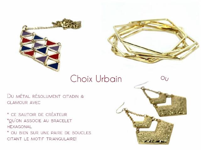 bijoux urbain métal