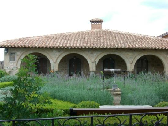 intérieur monastère