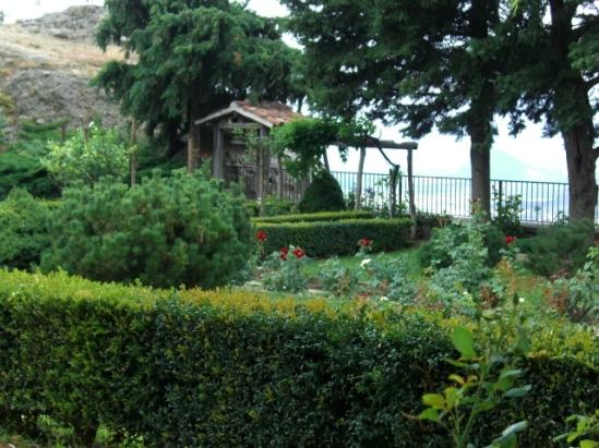 jardin de monastère météores