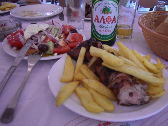 repas grec