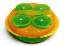 dBb babysnack vert-orange