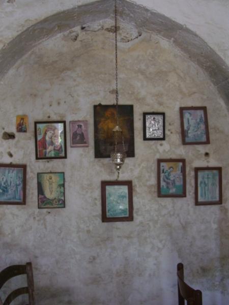 chapelle en grèce