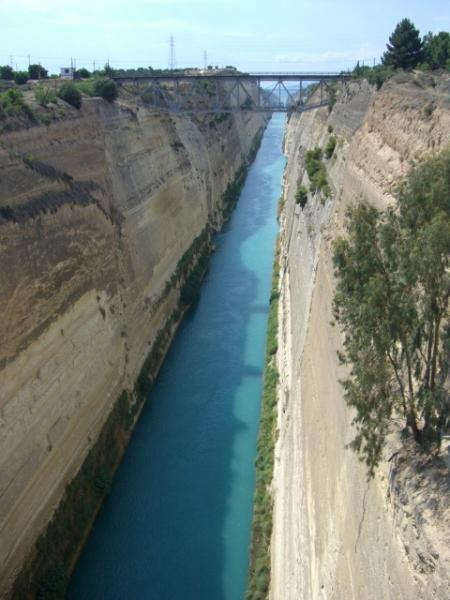 canal corinthe grèce