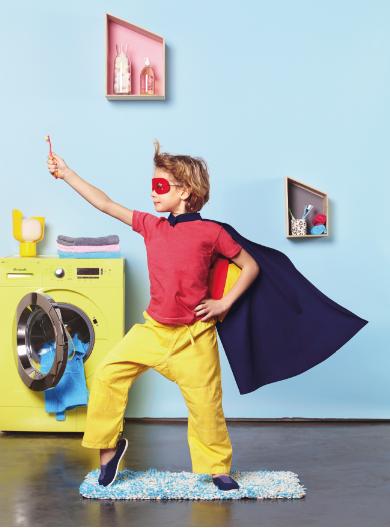 coloria cape et déguisement super héros