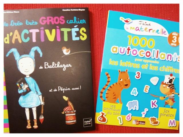 cahier activités maternelle