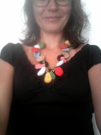 création bijou crochet