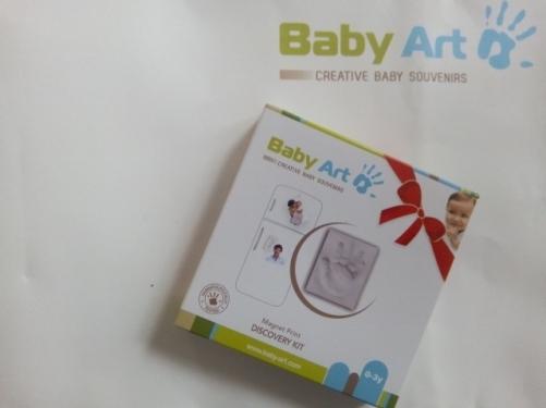 empreinte baby art souris maman