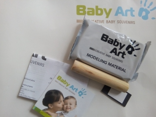 kit empreinte baby art