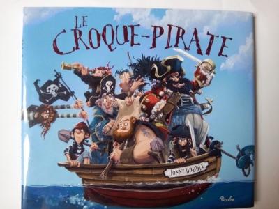 livre enfant croque pirate