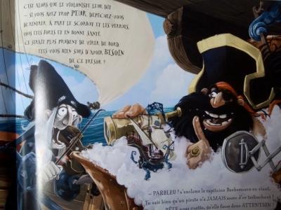 livre jeunesse croque pirate