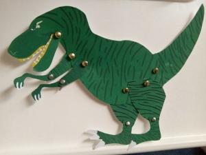 pantin dinosaure