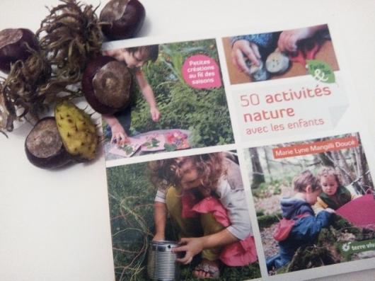livre 50 activités nature avec les enfants