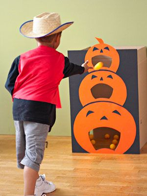 jeu en carton halloween