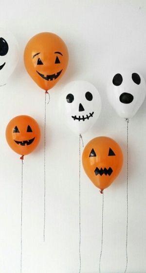 ballons pour halloween