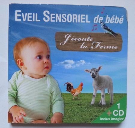 livre cd bébé sonore
