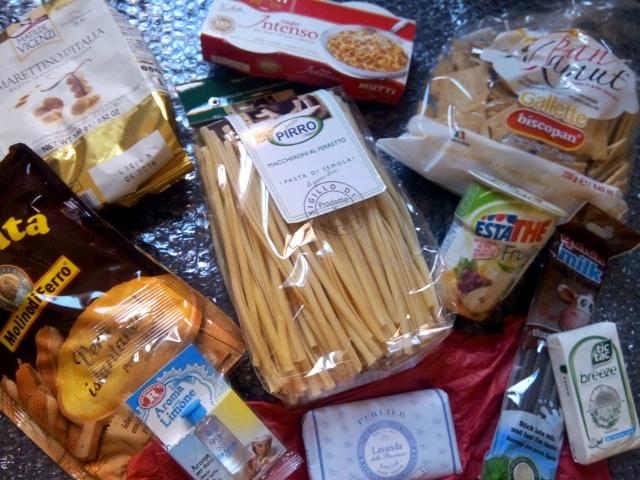 produit italien gourmand