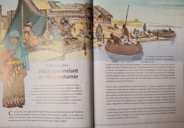 livre enfant L'histoire de l'Antiquité