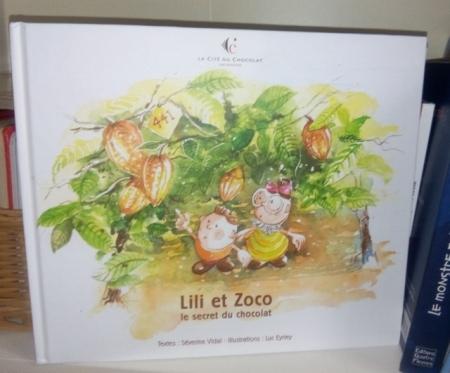 livre jeunesse lili et zoco