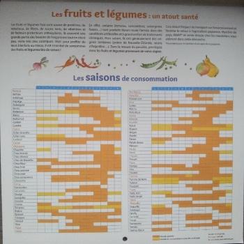 calendrier 2016 fruit legume saison