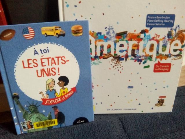 livre enfant amérique milan gallimard