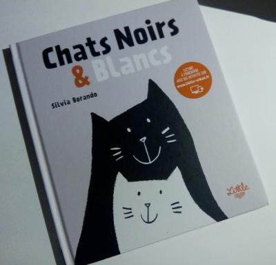 chats noirs et blancs little urban