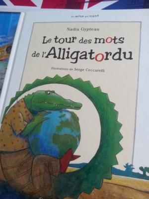 le tour des mots de l alligatordu livre enfant