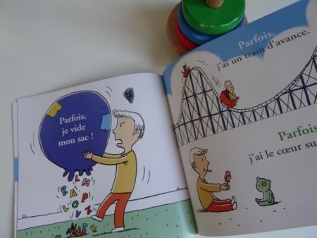 livre enfant parfois j ai la grosse tête éditions mic mac