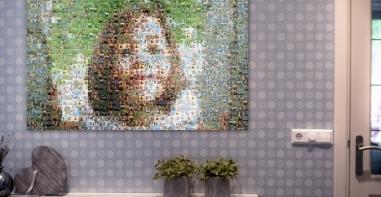 cadre mozaique photo