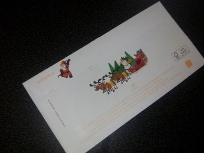 lettre reponse pere noel