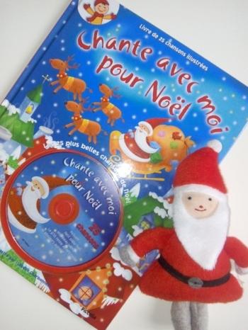 livre cd chanson noel