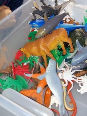 animaux figurines montessori