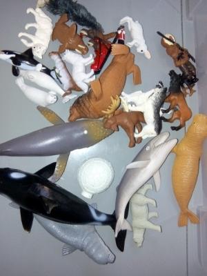 montessori activite figurines animaux