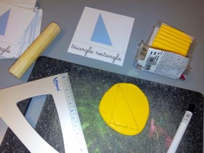 apprendre les formes geometriques avec figures montessori