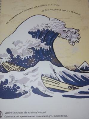 Mes créations du monde hokusai enfant