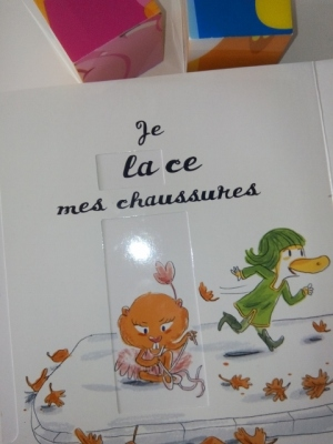 livre enfant les mots passe passe souris maman