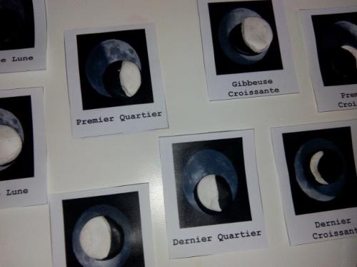 montessori activite enfant la lune astronomie