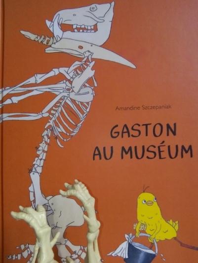 livre enfant gaston au museum