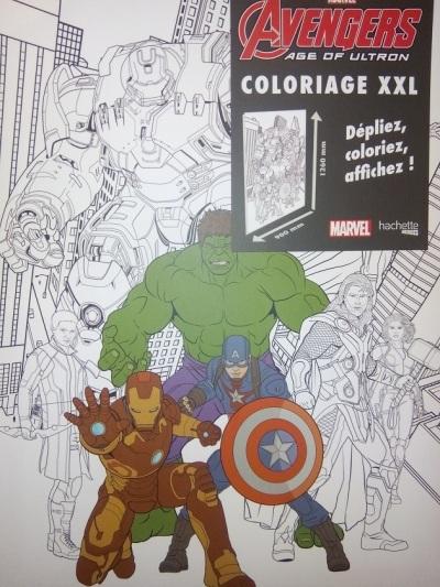 poster xxl avengers super heros