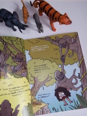 le livre de la jungle en anglais livre enfant